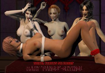 Happy 'Fangs' Giving! by DrMcQuark