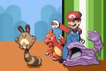 Super Smash Pokemon: Mario