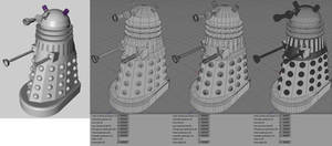 Supreme Dalek (Planet of the Daleks) WIP