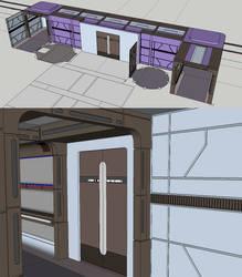 Voyager Corridor Engineering WIP by radishdalek