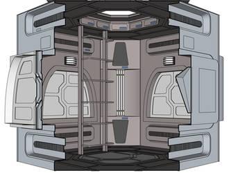 Voyager standalone junction room