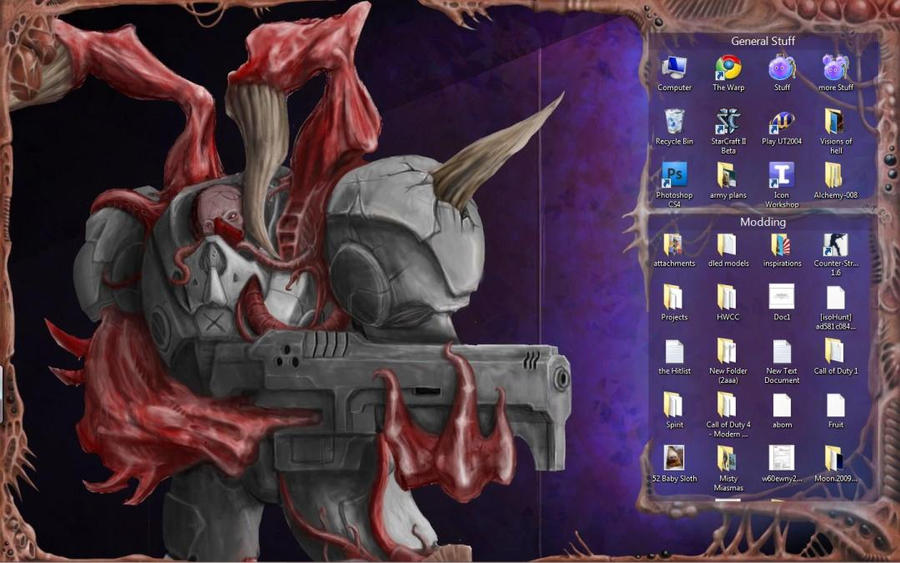 Zerg UI bg by MistyMiasma on DeviantArt