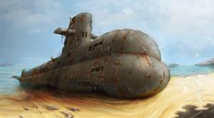 Derelict submarine Wip 3