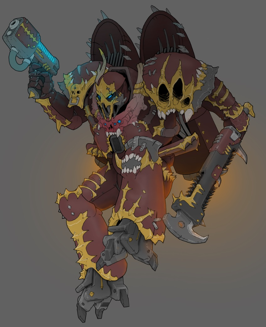 Chaos Raptor