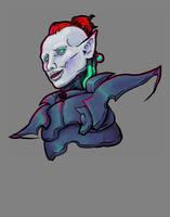 Inktober 005 - Kabalite Warrior