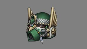Dark Angels Helmet