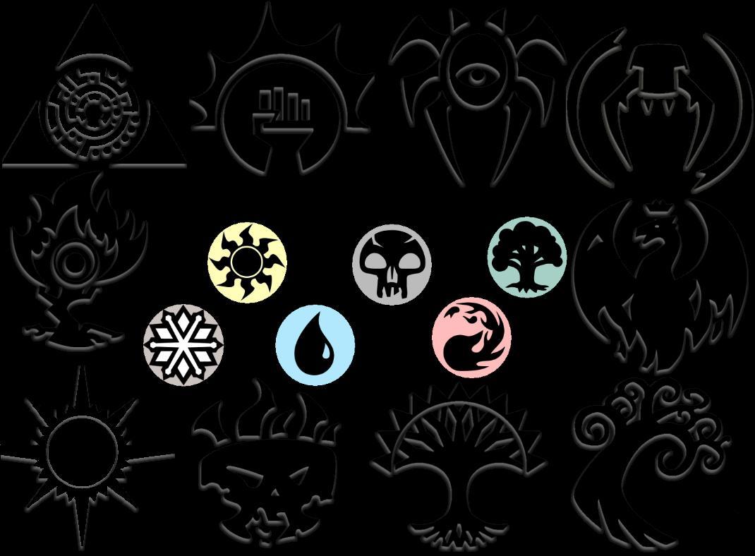MTG Mana n Guilds by Necroviera on DeviantArt