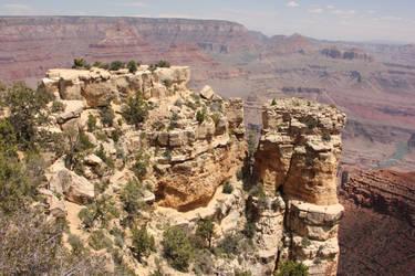 Stock: Canyon View by PapayaPirate