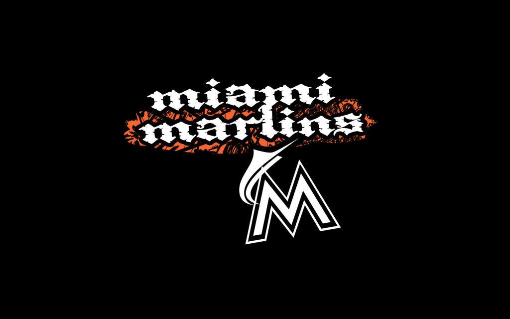 miami marlins distorted by toksic krusayder on deviantart