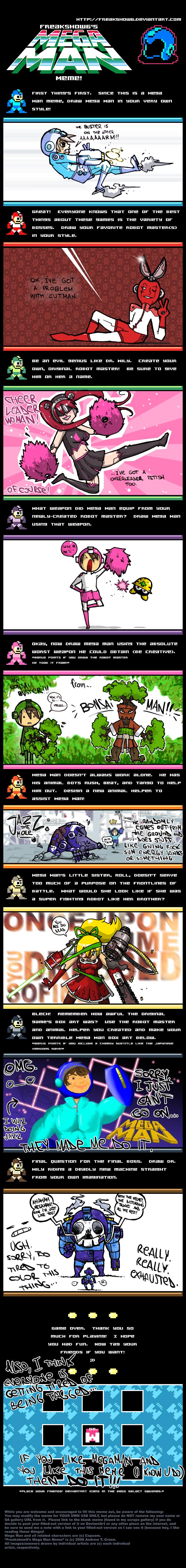 Teh Mega Man meme by Mensieur-A