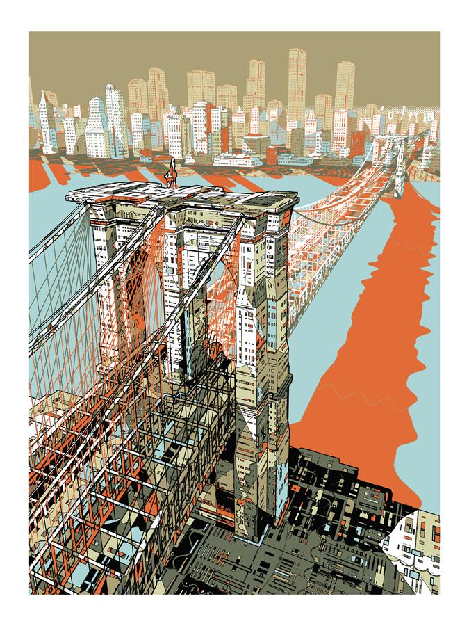 Brooklyn Bridge by HR-FM