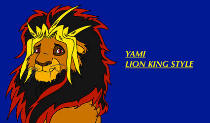 Yami Lion King Style by macomister