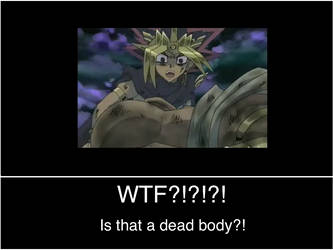 Yami Sees Dead Body by macomister