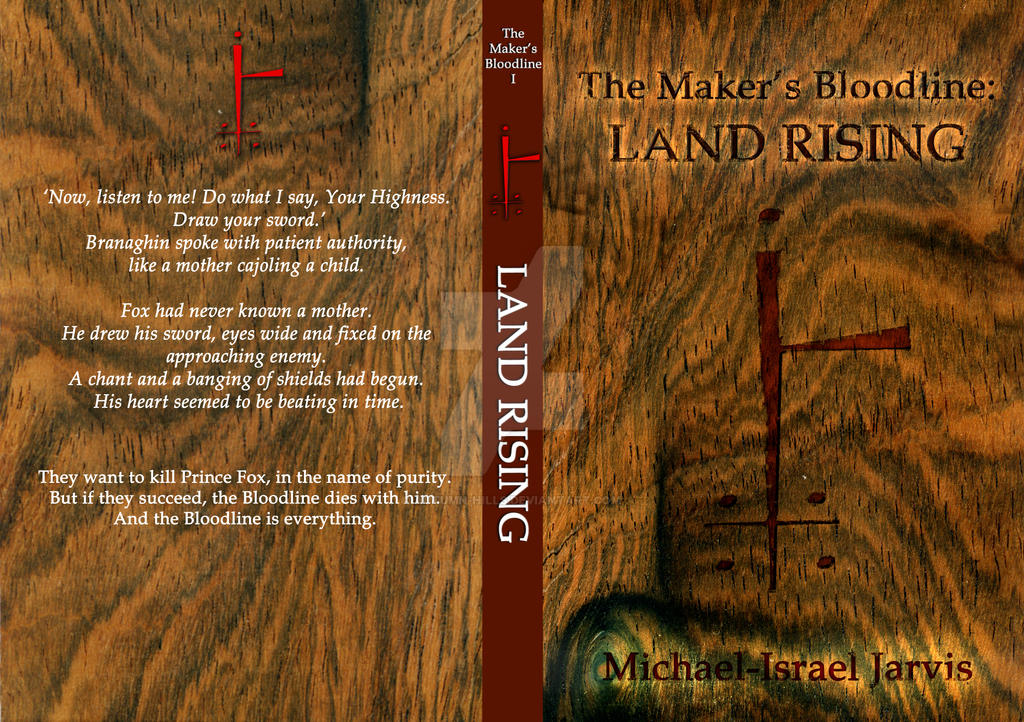 Book Cover Pattern Generator ~ The maker s bloodline land rising book cover by autumn