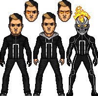 Robbie Reyes(New Ghost Rider) by kogabriel