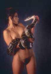 Snake Love by warrenhukill