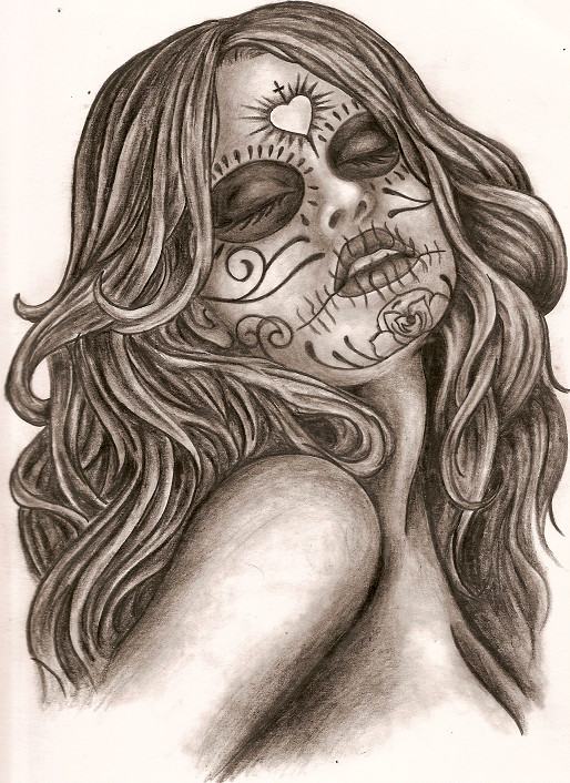 dia de los muertos by thetattooedgirl on DeviantArt
