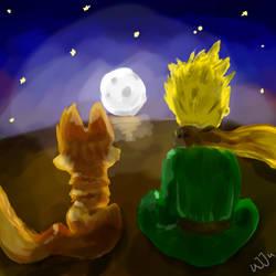 The Little Prince by Uj-Ju