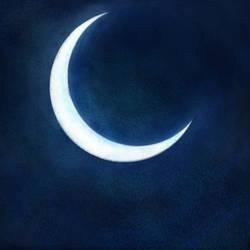 Second Moon by Uj-Ju