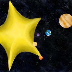 First Solar System by Uj-Ju