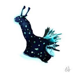 Nudibranch (Llama Sea Slug) by Uj-Ju