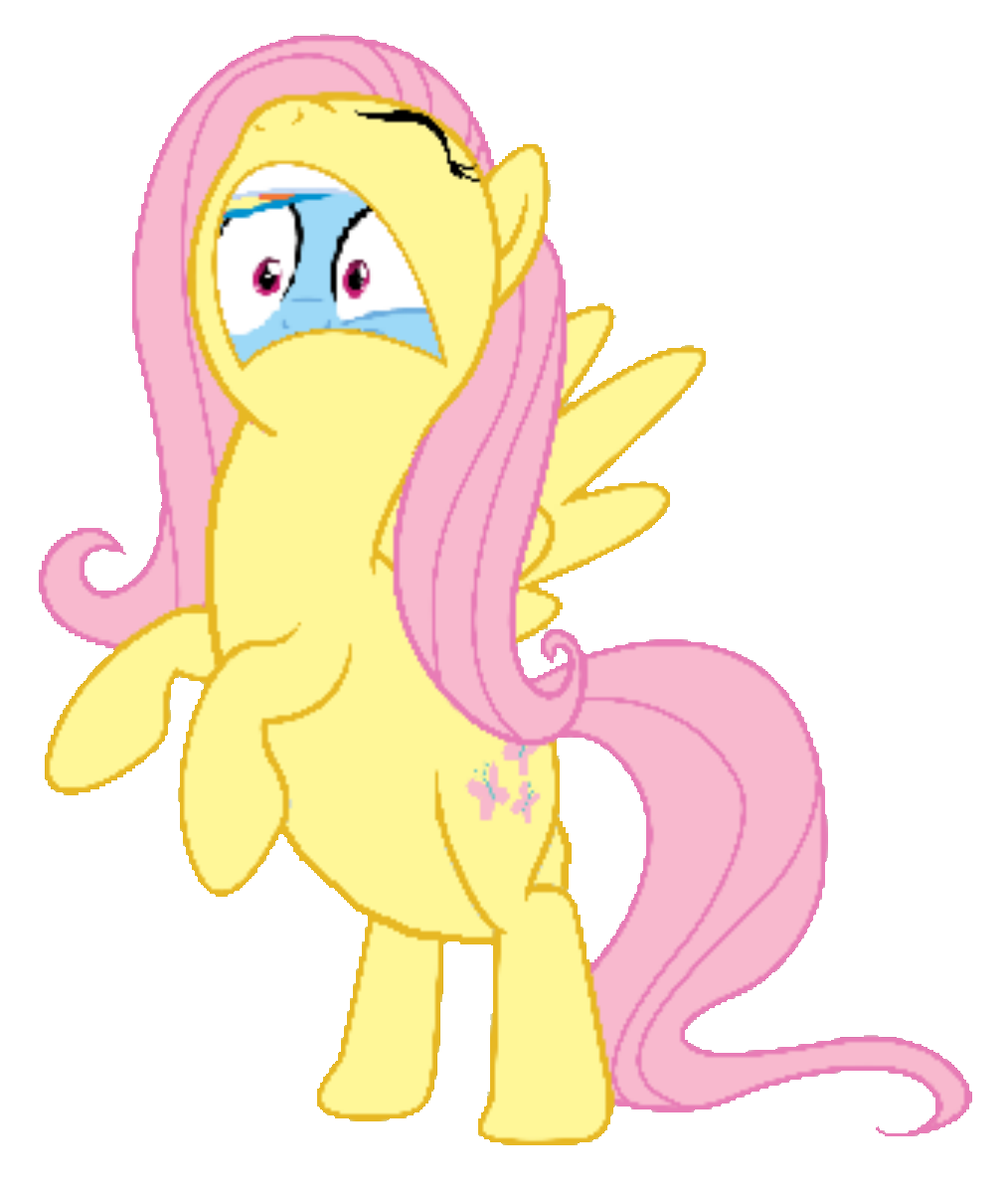 Rainbow Dash is going to be swallowed by Fluttervore on ... Anthro Fluttershy Vore