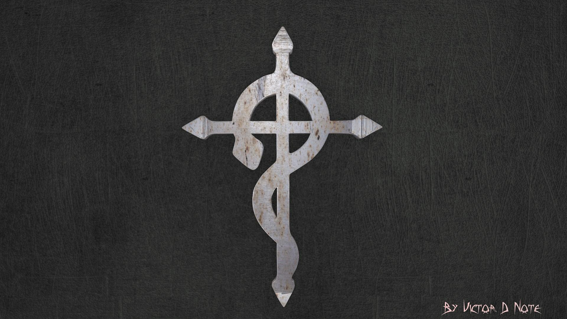 Top Wallpaper Logo Fullmetal Alchemist - fullmetal_alchemist_logo_by_vihkun-d4mk3x4  Pic_955617.jpg