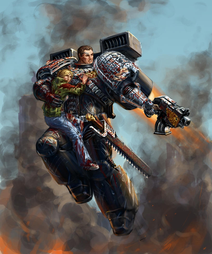 General Warhammer 40k Space Marines: For The Emperor. (40k, Space