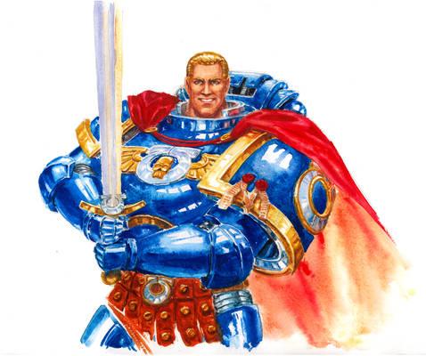 Ultramarine Watercolor