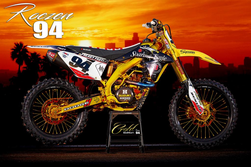 Ken Roczen Suzuki Gold Edition by K4RLSWEDE on DeviantArt
