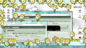 link shimeji (shimeji download!) by kirikoh