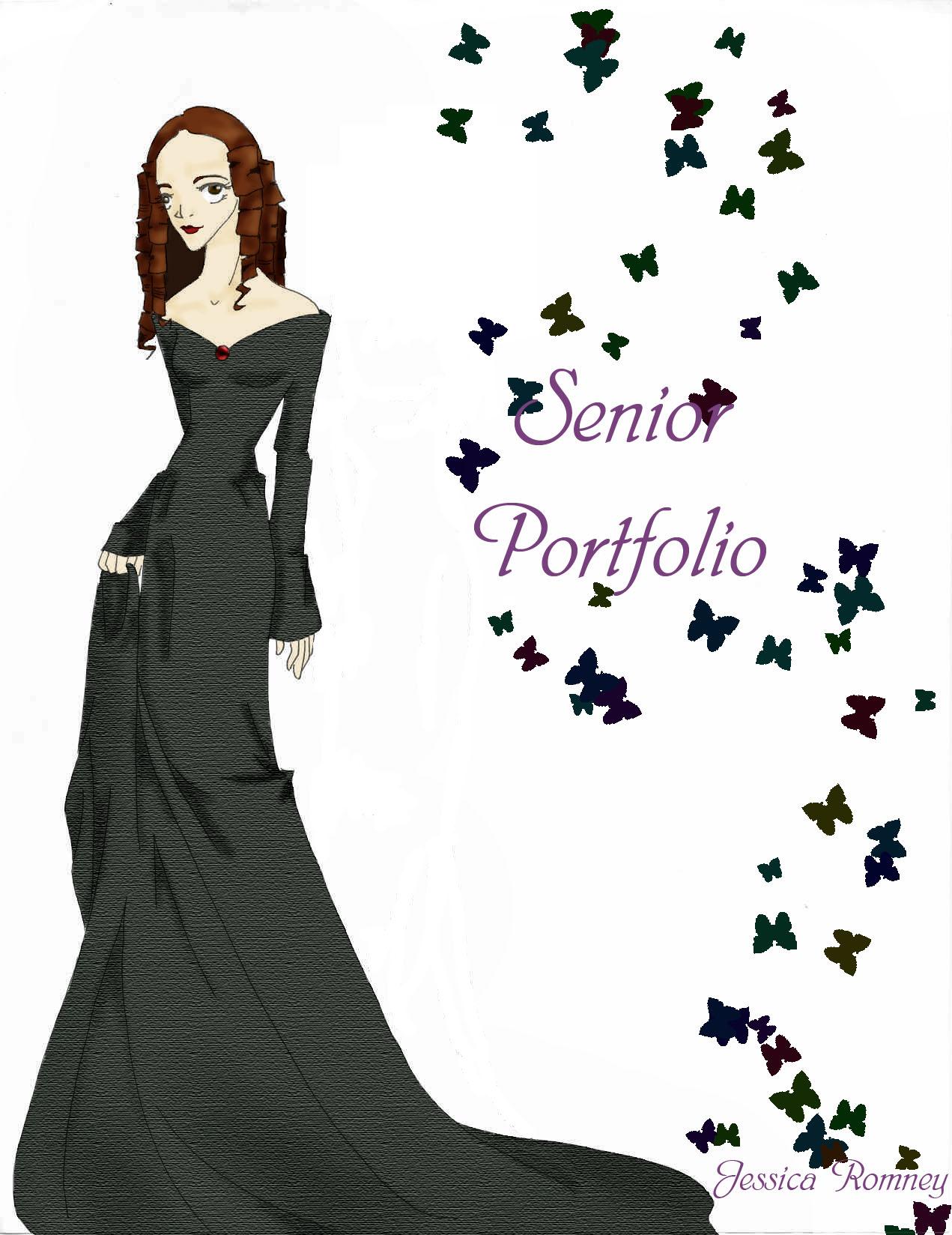 Senior Portfolio Title Page By Faespirit On Deviantart