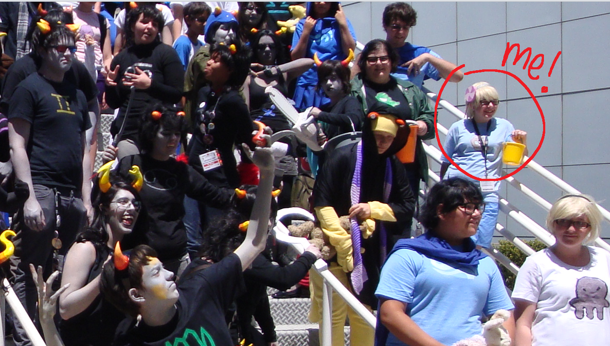 Me At Anime Expo 2011 Sat