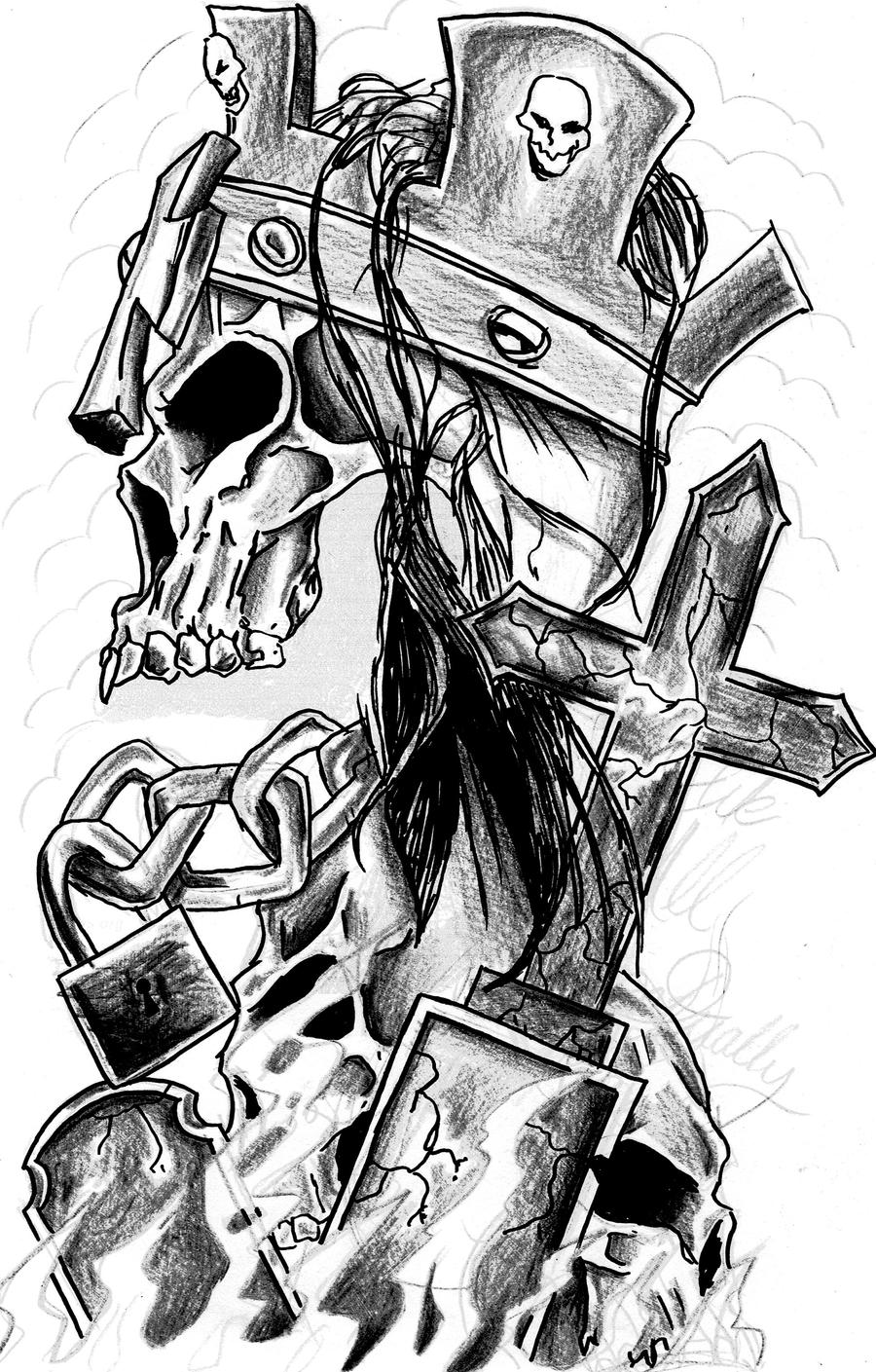 hhh skull by 3188 on DeviantArt