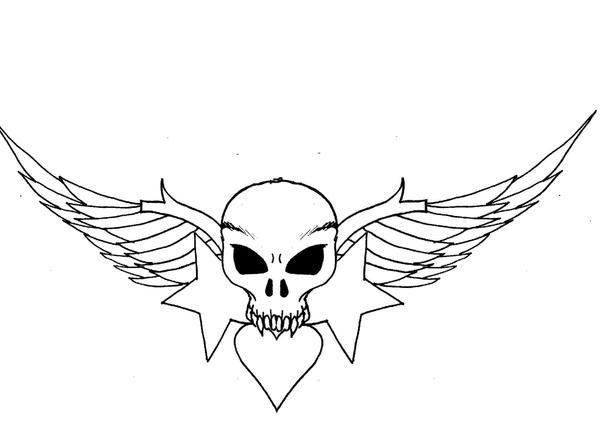Hearts Skull Start By 3188