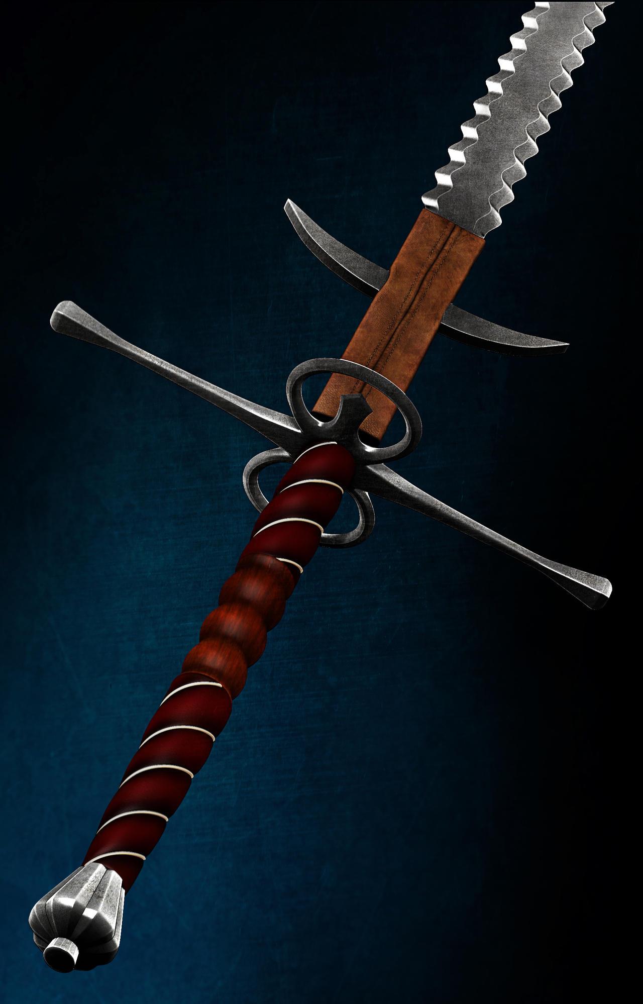 Zweihander Sword Zweihaender by alpinex...