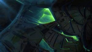 Alien Station IV by banner4