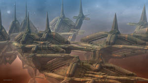 Alien Station IX by banner4