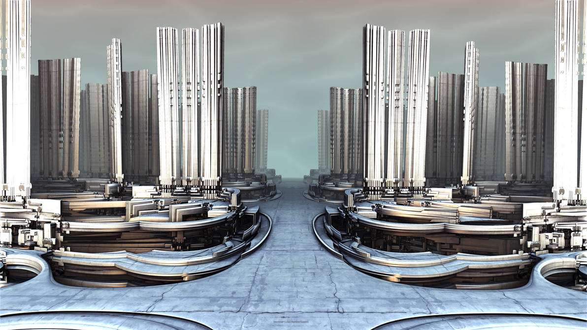 Twisted Architecture XLVII by banner4