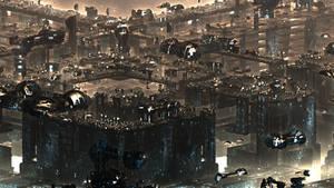Antigravity City IV by banner4