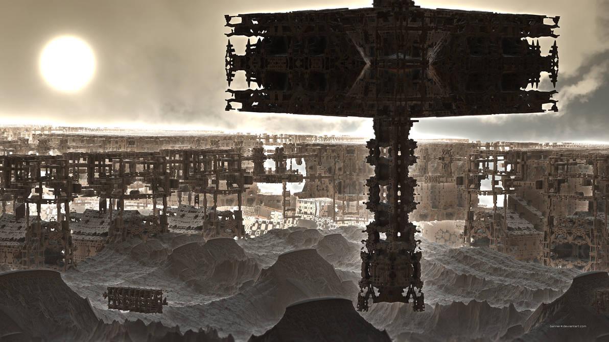 Desert Settlement II by banner4
