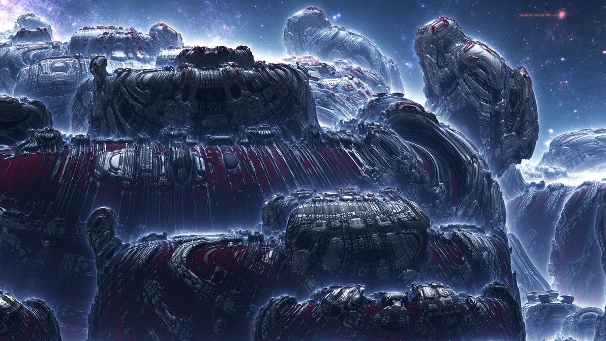 Alienscape XX by banner4