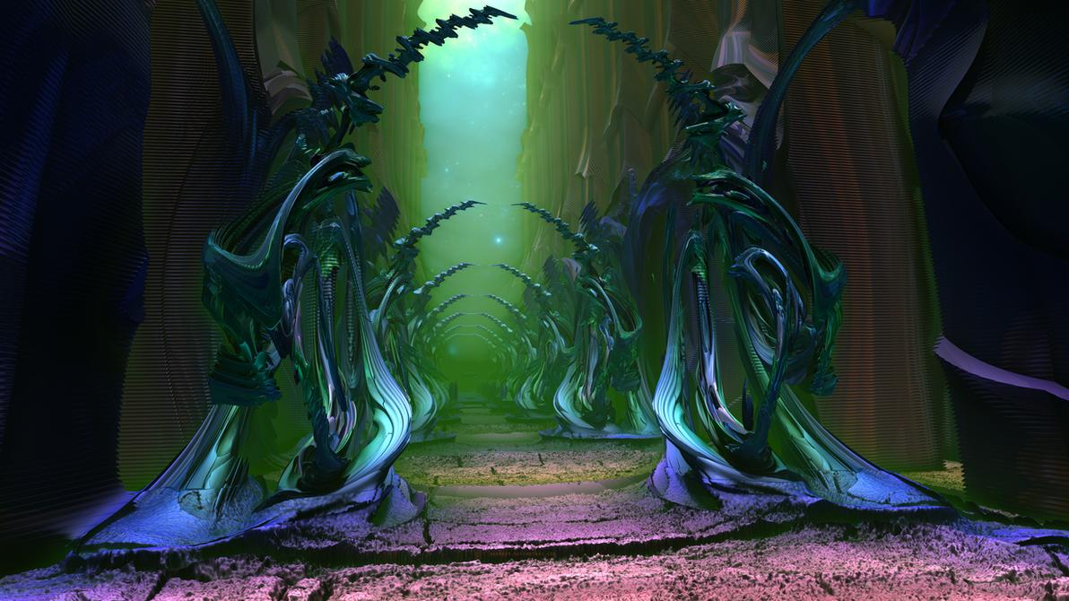 Alienscape XXIV by banner4