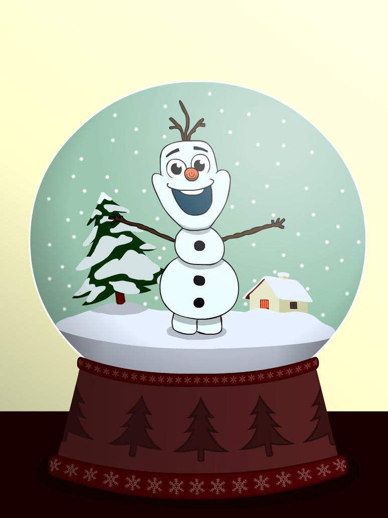 Olaf\'s Christmas Snowball by PanonoSan on DeviantArt