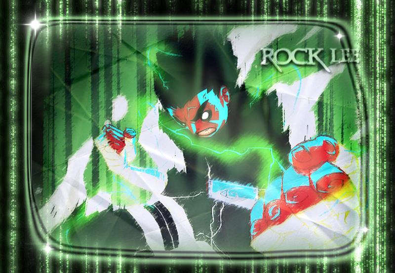 Rock Lee 8 Gates Shippuden