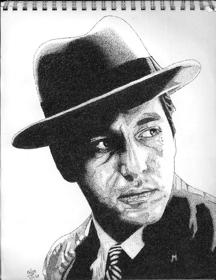 Michael Corleone Stipple