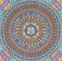 Easter Mandala by Jewelfly