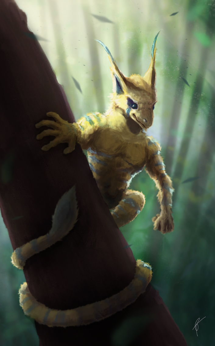 Woodland Criter Paintover by Br00dley