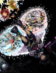 KH2- My Heart's A Battleground by snow-chan