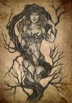 Spirit of the Tree by ArunaWolf
